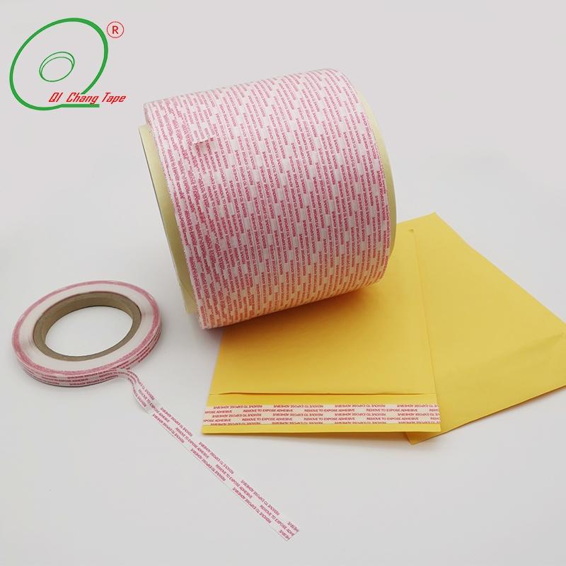 Лента для перманентных пакетов из перманентной бумаги Glassine
